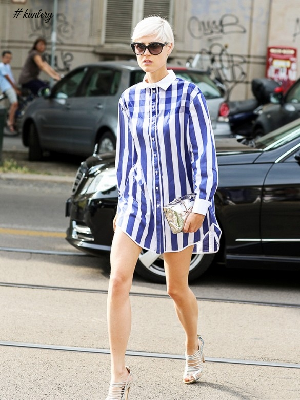 How To Spice Up Your Shirt-Dresses