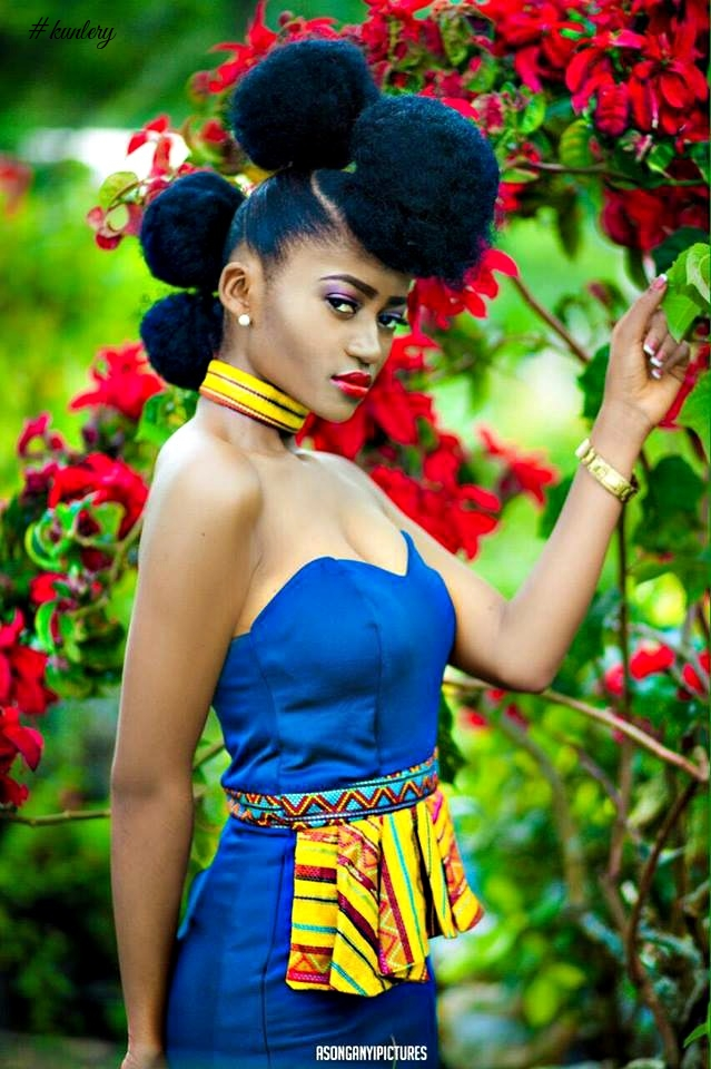 A Rose In The Garden, Cameroon Designer Nkafu Sulet Gives Us A Taste Of Her Lastest Dresses