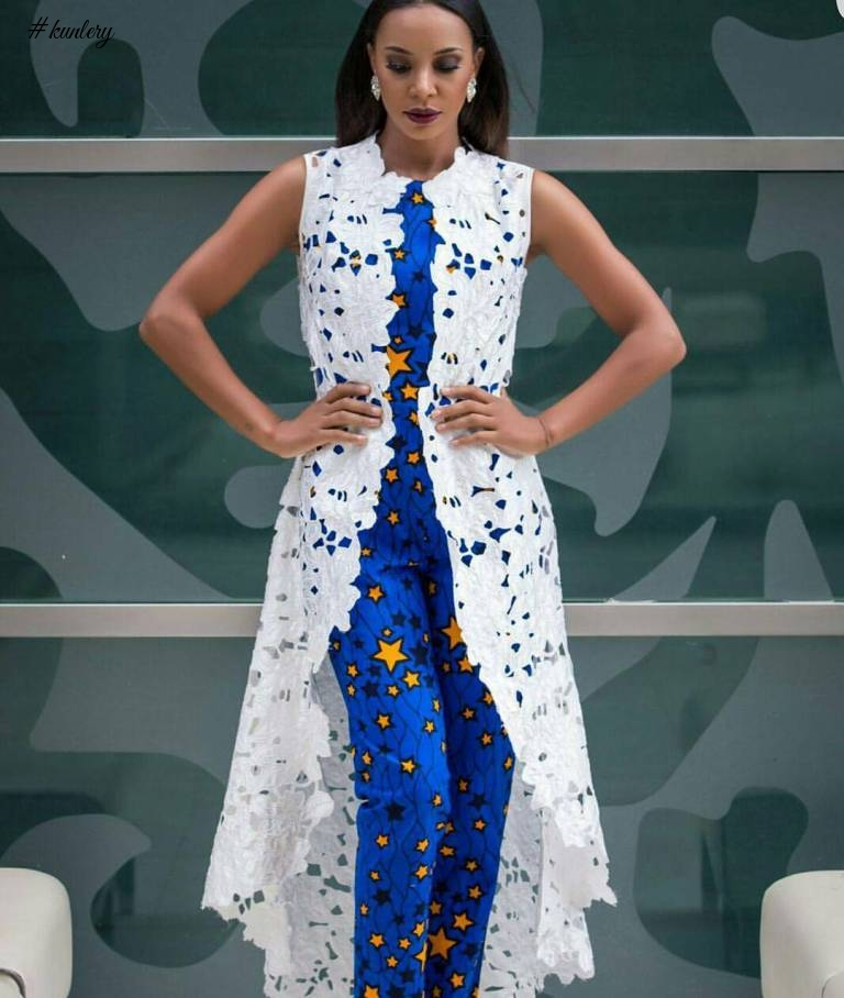 LOOK GLAMOROUS IN THESE ANKARA STYLES