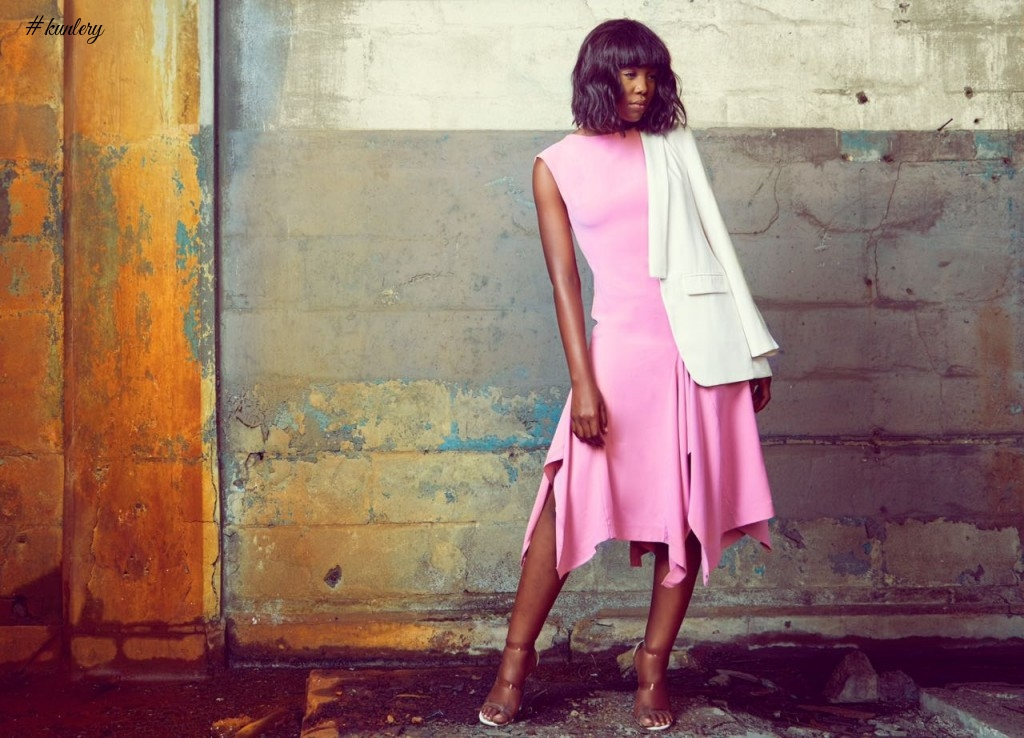 "Simple & Chic! Emerging Label ""TIFE"" Unveils 1st Collection ""Omodunni"""
