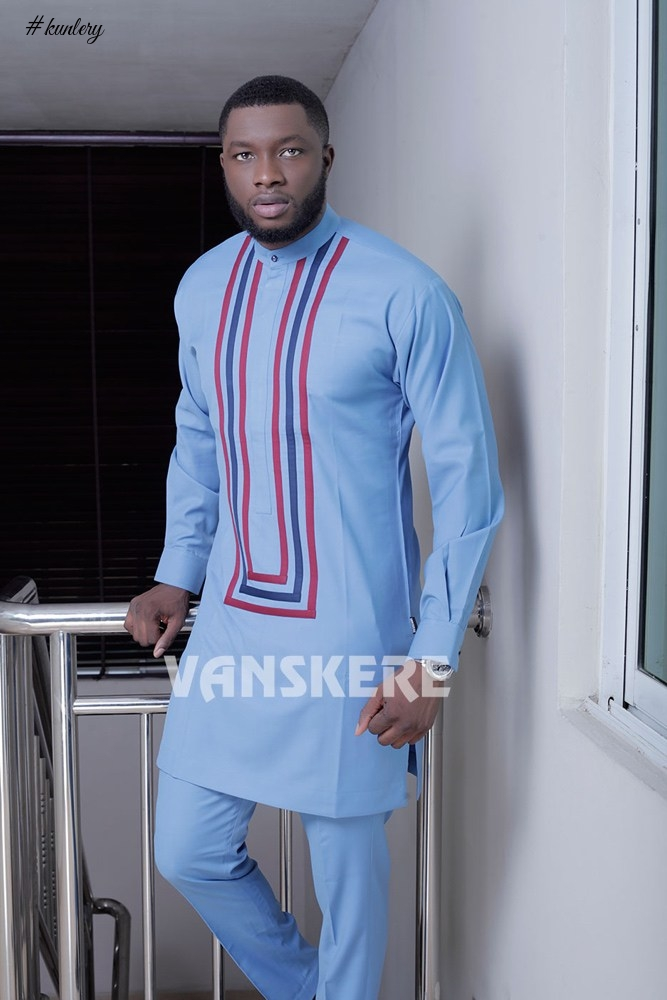 NIGERIAN MENSWEAR BRAND VANSKERE NEWEST COLLECTION LOOKBOOK