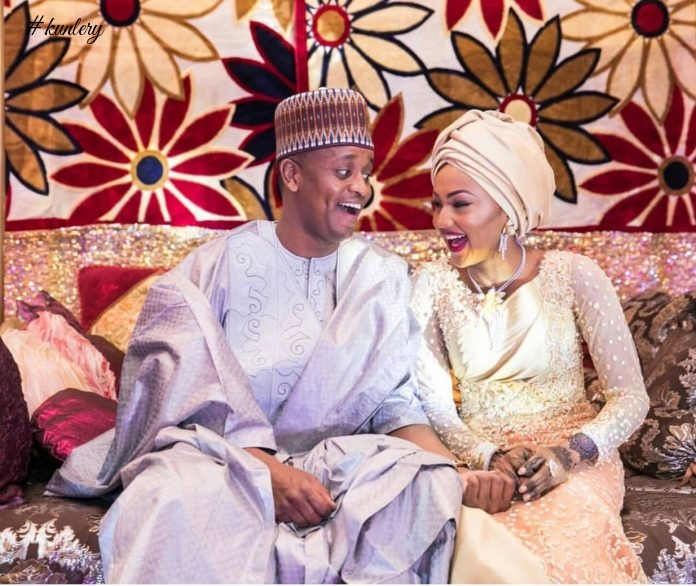 See Breath Taking Pictures From Nigeria's First Daughter's Wedding; Zahra Buhari & Ahmed Indimi