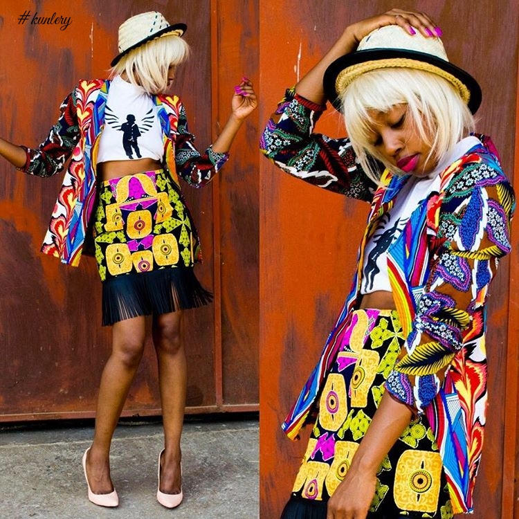 START YOUR WEEKEND WITH THIS INCREDIBLE ANKARA STYLES INSPIRATION