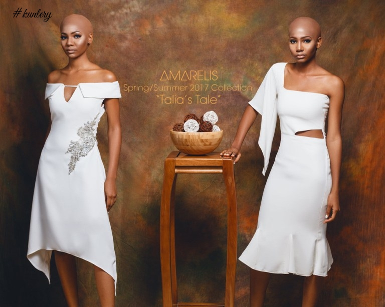 STUNNING COLLECTION AS AMARELIS ATELIER PRESENTS IT'S SPRING SUMMER 2017 LOOKBOOK