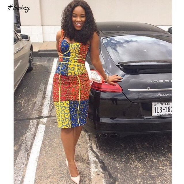STEP INTO THE NEW YEAR IN STUNNING SEXY ANKARA STYLES