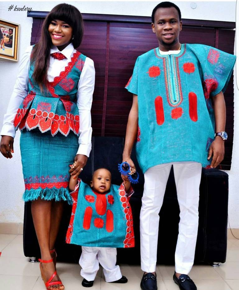 CUTE FAMILY PICTURES WE SAW THIS FESTIVE SEASON