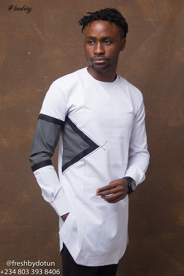 Nigeria's Fresh by Dotun Presents Look Book For It's New Year Collection 'Monotint'