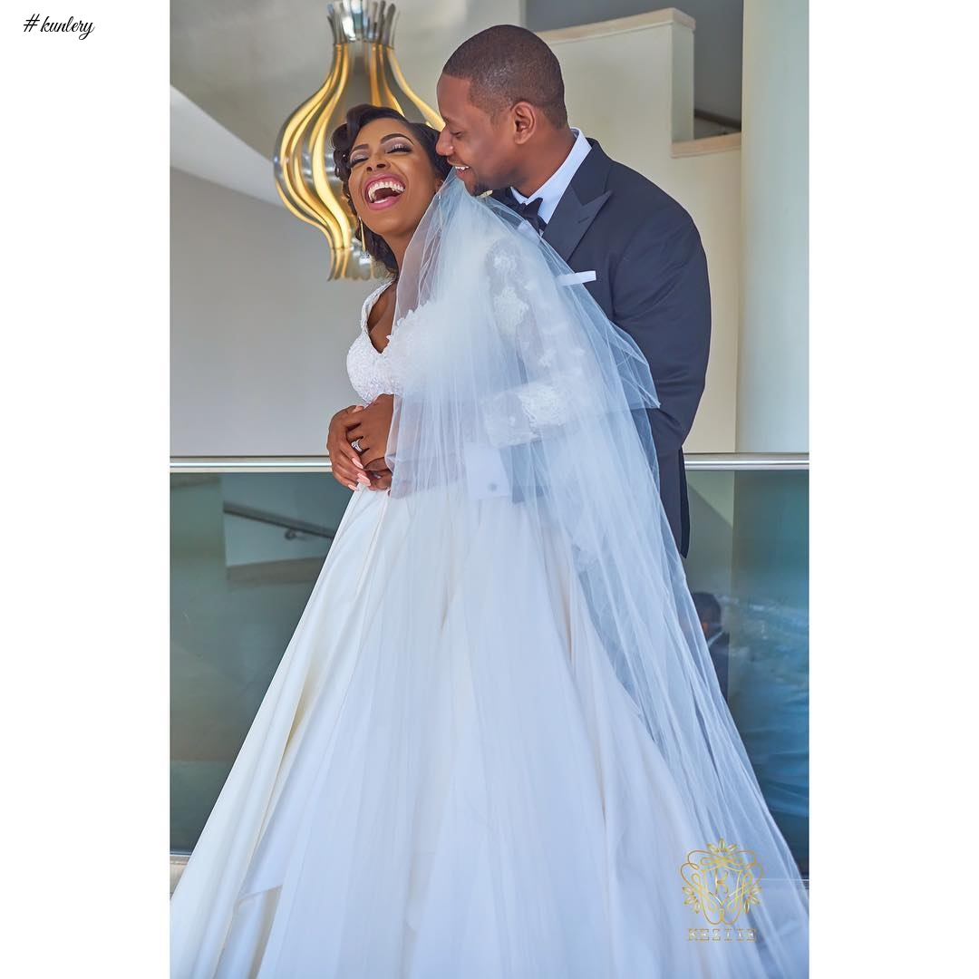 SEE ALL THE GLAM AND FUN FROM SOMMIE AND KAMDI'S OUTDOOR WEDDING