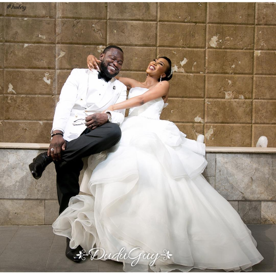 SEE PHOTOS FROM THE INTIMATE WEDDING OF EBUN AND KOYA