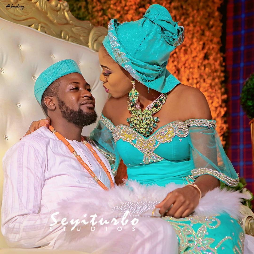 SEE DAISY AND KUNLE GET MARRIED IN GRAND STYLE