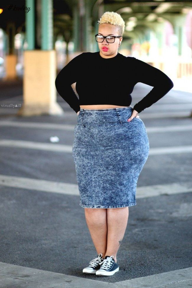 STREET STYLE WITH THE PLUS-SIZE LADIES