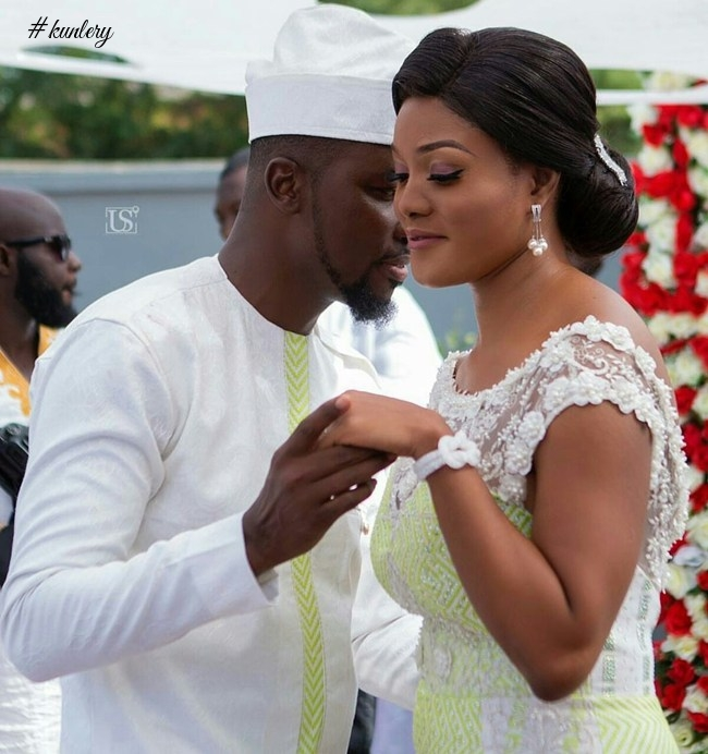 Check Out The Latest Images From A Plus & Stylist's Akosua Vee's Wedding