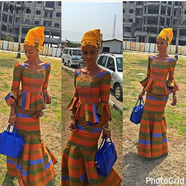 TRENDING THURDAY STYLES OF VELVET TURBANS AND ASO EBI COMBO