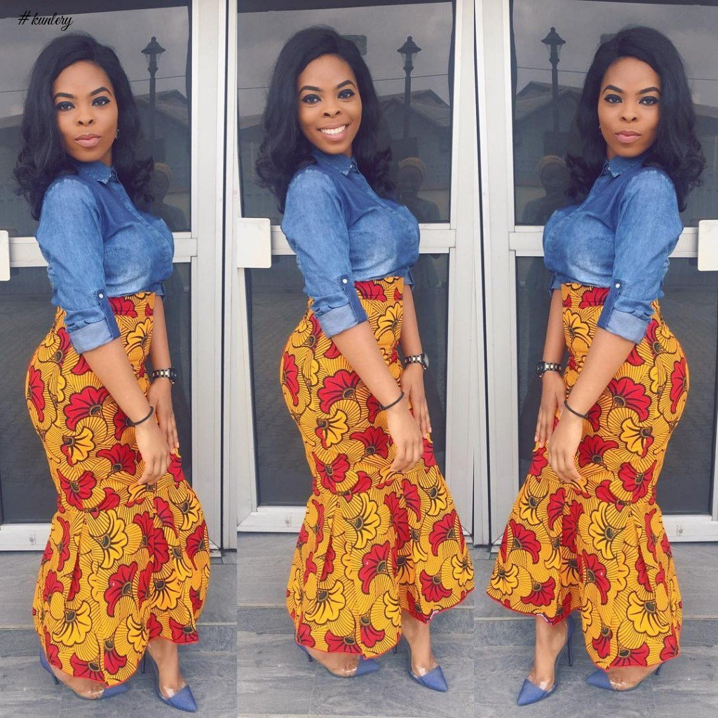 THESE ANKARA STYLES ARE FLAMING HOT
