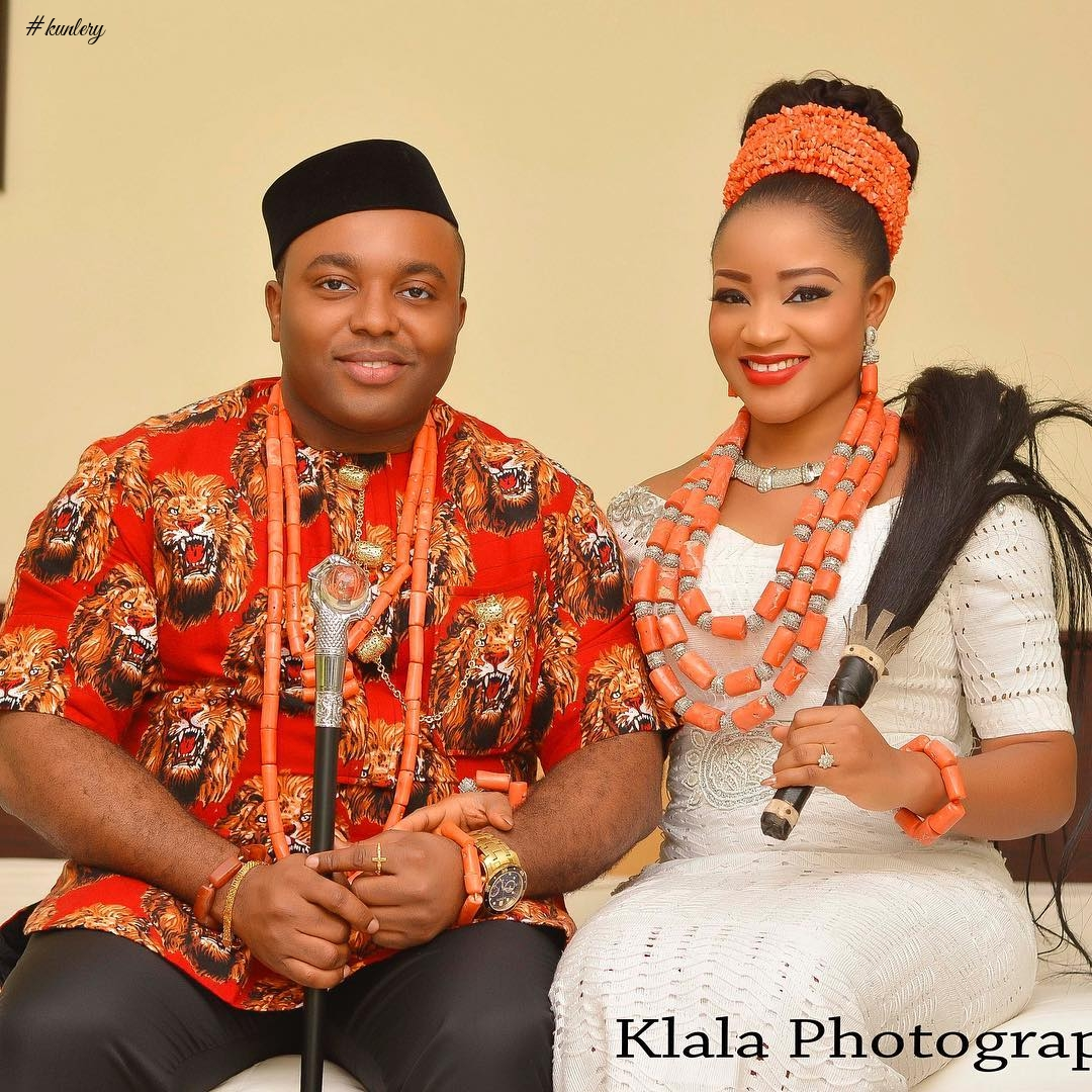 SEE DELTA BRIDE IFEYINWA AND HER IGBO GROOM, CHIDI, GET MARRIED IN ZARIA