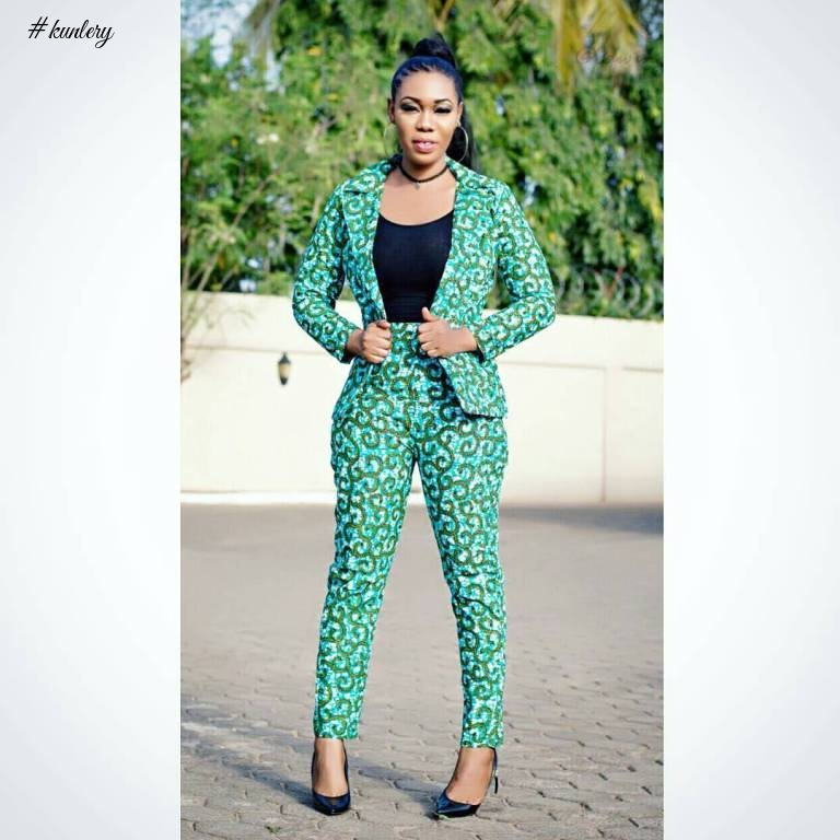 THE ANKARA JACKET IS A MUST HAVE FOR EVERY FASHIONISTA