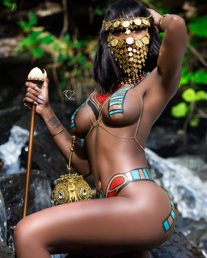 See Imags & Video Of Amazing Warrior Queen Glamour Photoshoot By @CCLarkFotos1