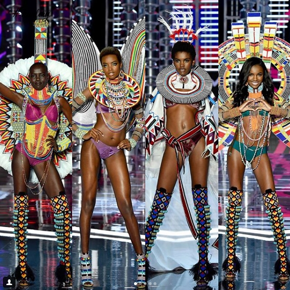 See All The African Models That Sent Victoria Secret Fashion Show 2017 Viral This Year