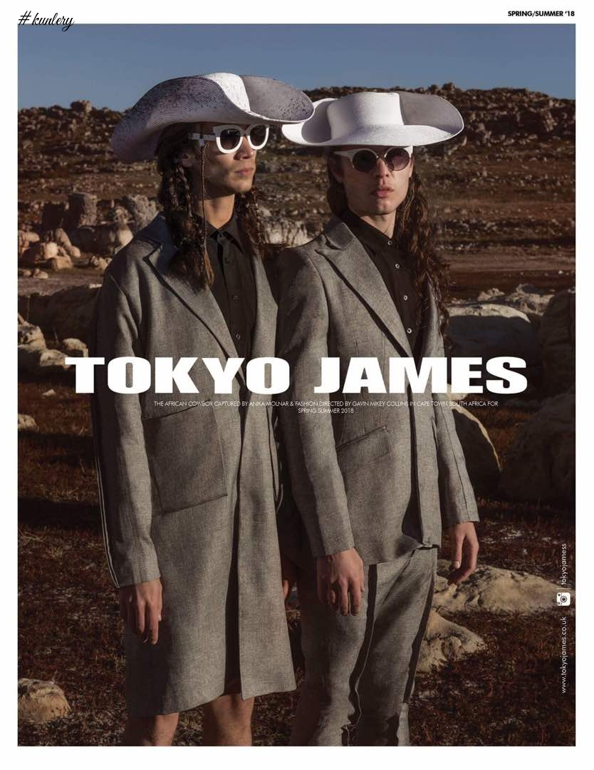 Tokyo James Releases SS18 Campaign Titled The African Cowboy