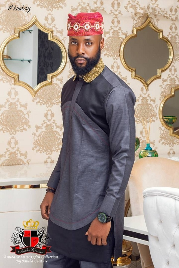 Anuba Couture Presents It Latest 2017/18 Collection -The Anuba Man