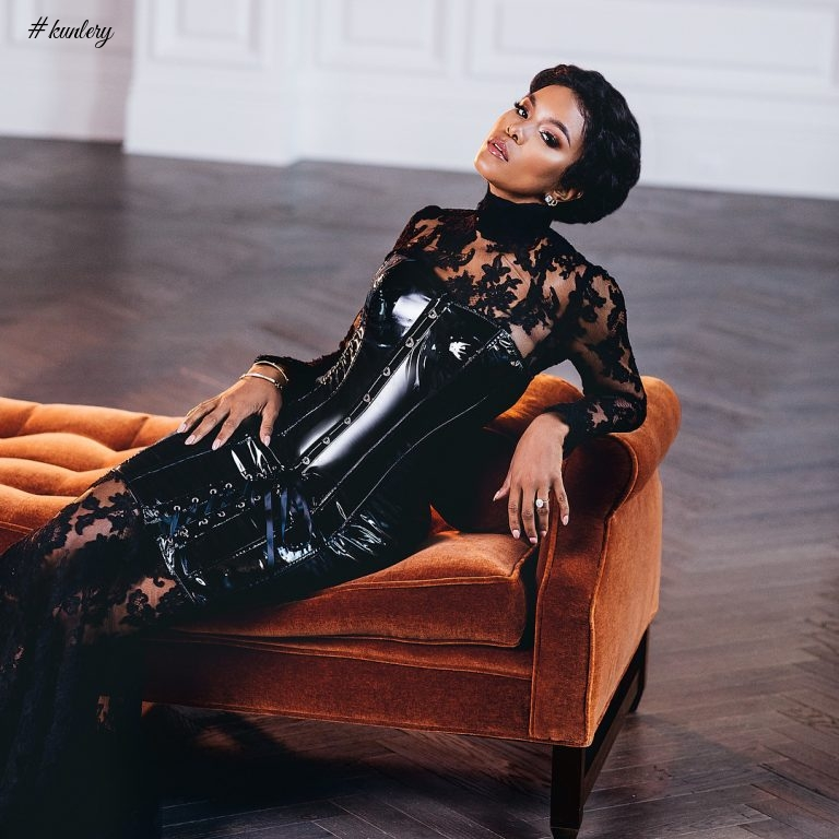 LETOYA LUCKETT STUNS ON THE COVER OF MUNALUCHI BRIDE WINTER EDITION