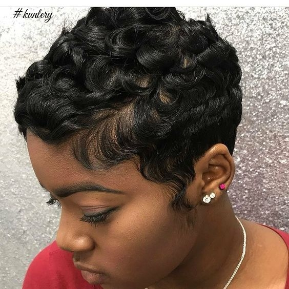 9 Sassy Summer Short Waves Hairstyles For Black Girls You Need To Try